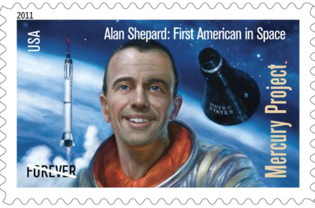 Första amerikanen i rymden