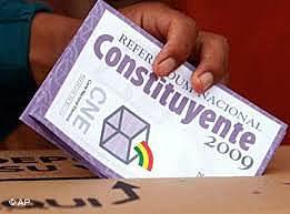 BOLIVIAN CONSTITUTIONAL REFERENDUM