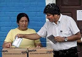 MORALES RE-ELECTED