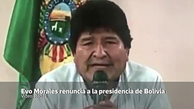 Morales resigned