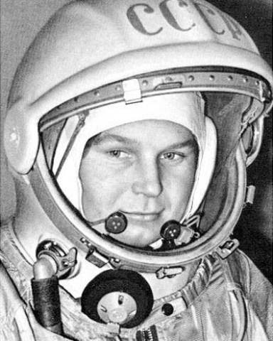 Första kvinnan i rymden