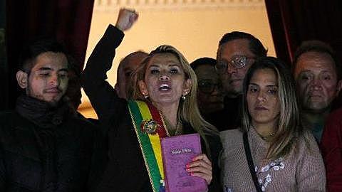 Interim President Jeanine Añez