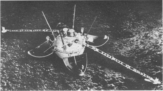 Första mjuka landningen på månen