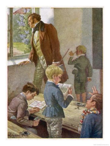 Schubert began receiving musical instruction