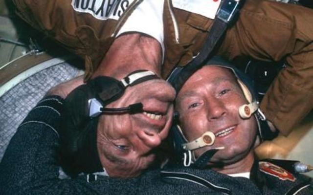 Slutet på rymdkapplöpningen