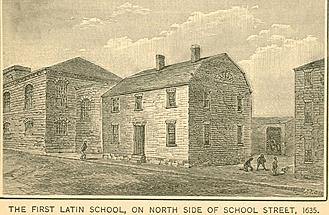 First Latin Grammar School