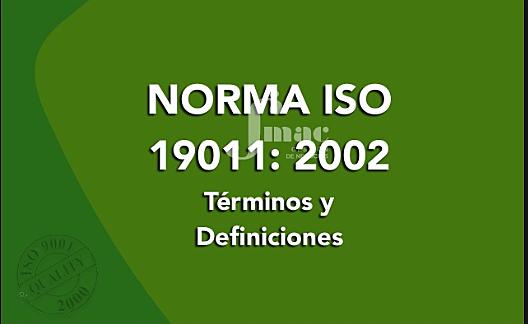 ISO 19011 DE 2002