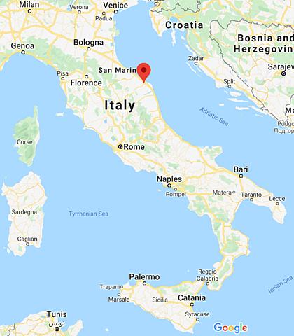 Born in Chiaravalle, Province of Ancona, Italy