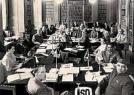 Primera reunion de la organizacion ISO