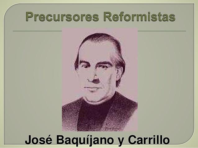 JOSE BAQUIJANO Y CARRILLO