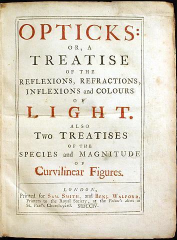 Tratado de Newton sobre la óptica