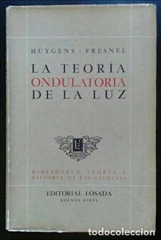Huygens publicó su teoría de la luz