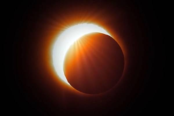 Eclipse en la isla príncipe