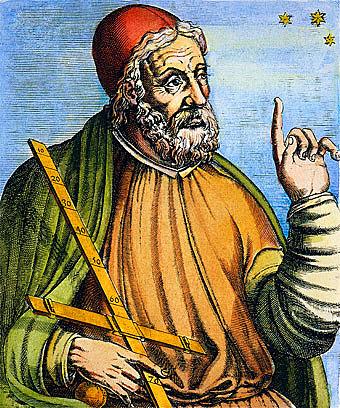 Claudio Ptolomeo (100-170 d.C)