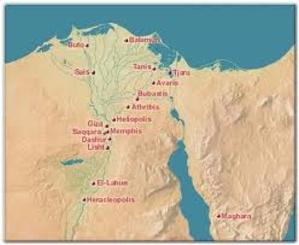 pérdida de Egipto, Palestina y Siria