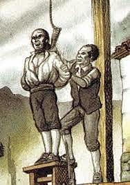 Ejecución del corregidor Antonio de Arriaga.