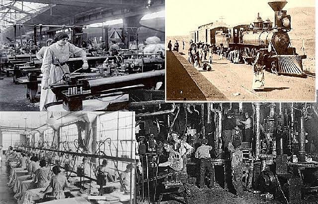 1913-1916 Panorama económico de la Revolución Mexicana