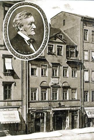 Wagner was enrolled at Pastor Wetzel's school at Possendorf.