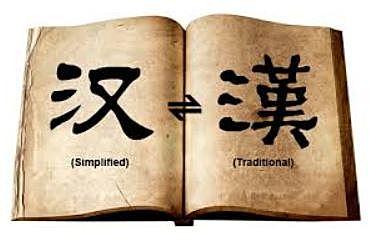 Simplificación de los caracteres: China