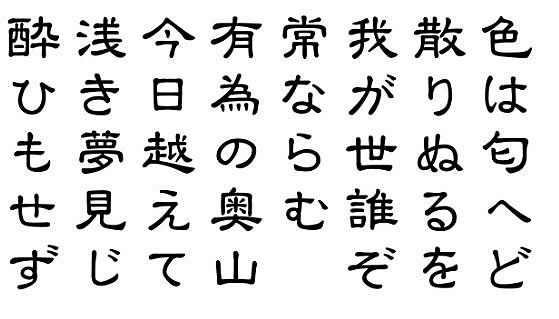 Periodo Nara: Caligrafía Japonesa