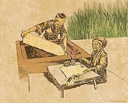 Período Yamato: Invención del papel: Japón