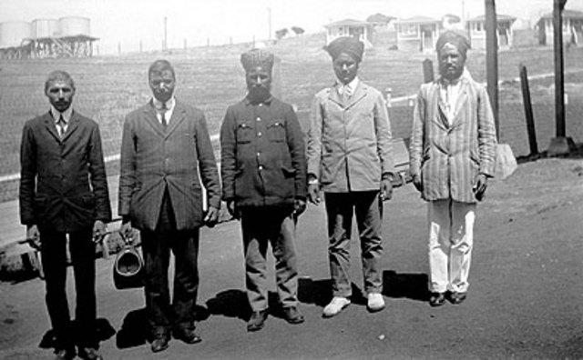 Indians arrive in America