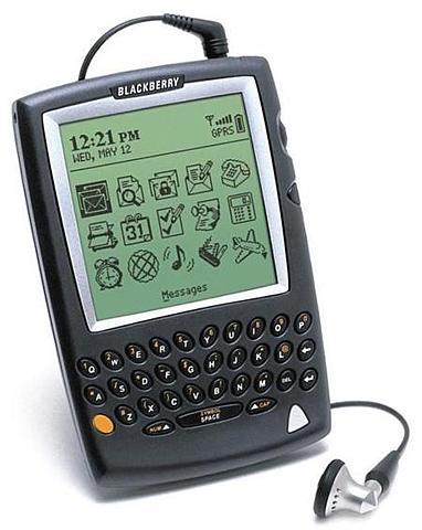 Primer blackberry 5810