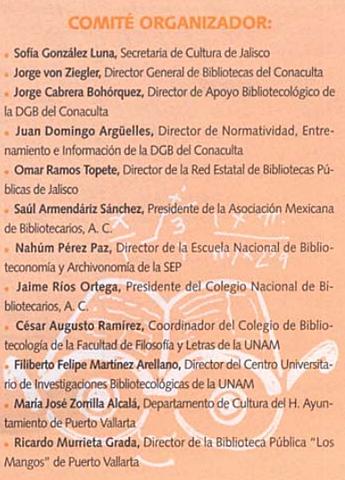Segundo Encuentro Internacional sobre Bibliotecas Públicas