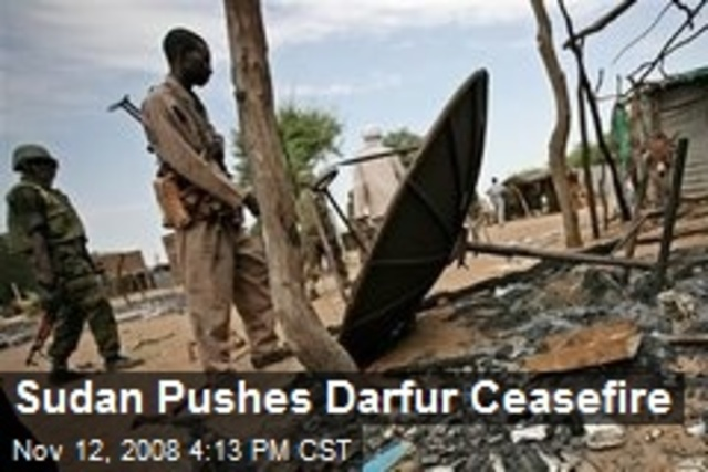 Ceasefire in Darfur