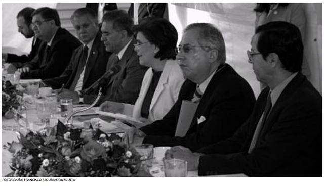 Presentan el proyecto de la nueva Biblioteca de méxico a embajadores y agregados culturales de países iberoamericanos