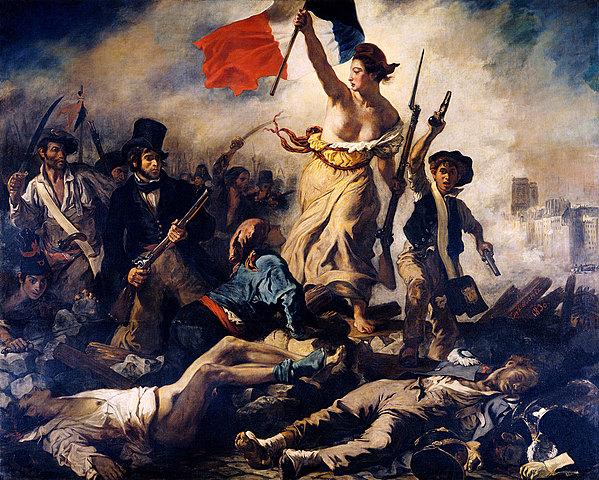 Revolución de Julio, Francia.
