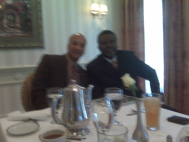 Lunch Meeting with Mayor C. Ray Nagin