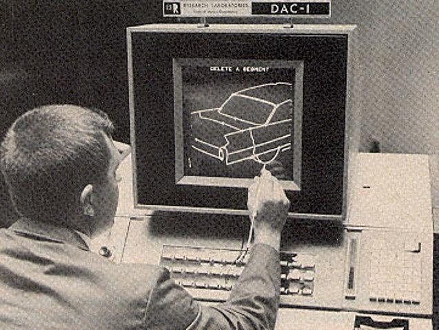 Surge el primer sistema de dibujo por computadora