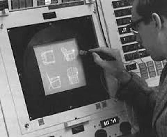 Primer sistema de comunicación gráfica humano computadora