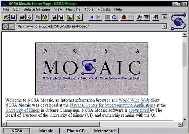 Primer navegador web gráfico