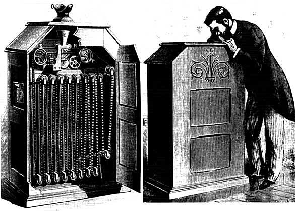 Kinetoskopioa - Edison