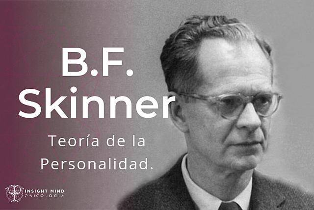 Teoría de la personalidad - Skinner