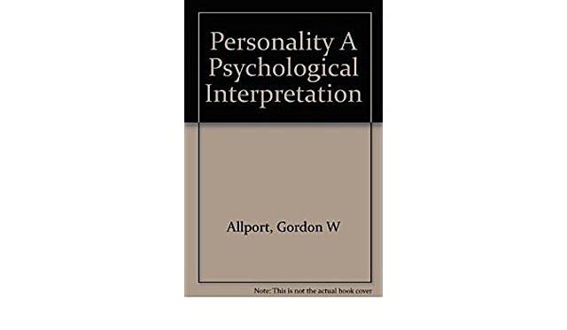 Nacimiento de la psicología de la personalidad.