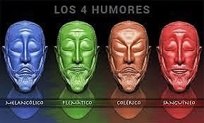 Teoría de los cuatro humores.