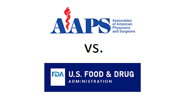 Association of American Physicians and Surgeons (AAPS) sues FDA for greater access to HCQ.