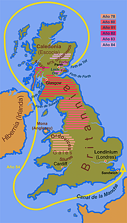 The first province of Britain and important Kings