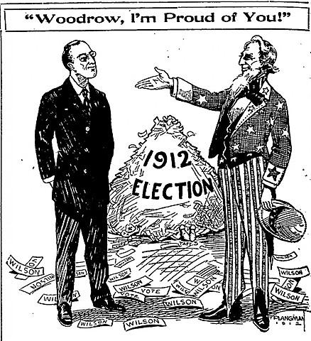 Election of Woodrow Wilson
