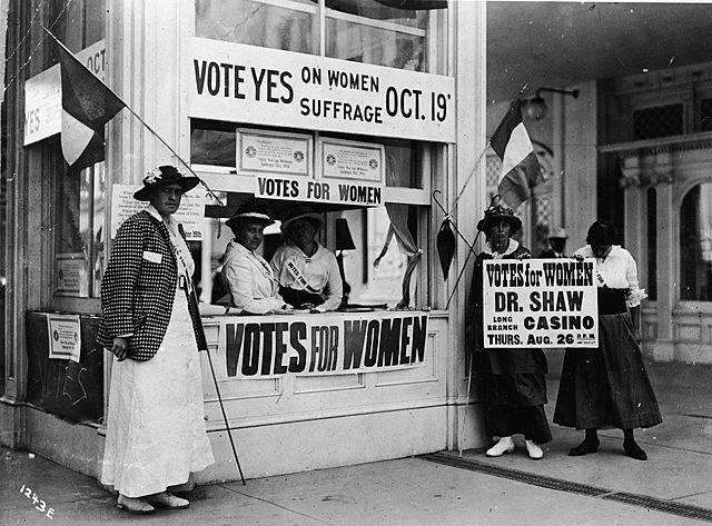 19th Amendment: Women's Right To Vote
