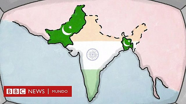 India y Pakistán son creados.