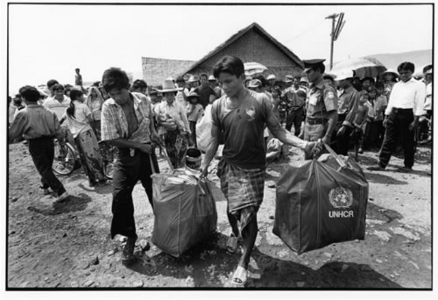 First wave of Cambodians begin to arrive