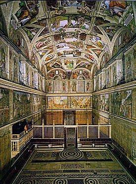 Miguel Angel y la capilla sixtina