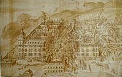Construcción del monasterio de la escoria