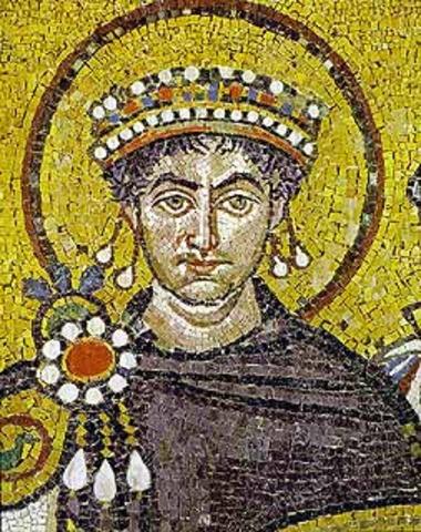 Justiniano reconquista Italia, África e Hispania para unificar el Imperio Bizantino