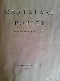 """El Libro Mayor """"Cartulari"""""""