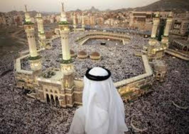 Mahoma huyó de la meca y conquistó Arabia.